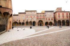 Favorite spot in Bologna. Piazza Santo Stefano!