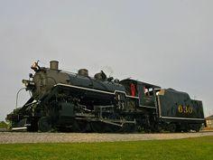 Southern 630 steam locomotive