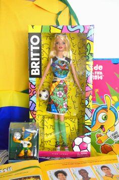 Barbie Romero Brito Copa do Mundo 2014
