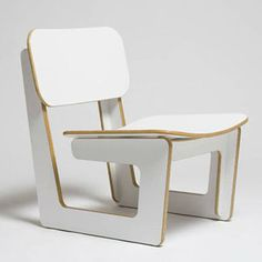 Capital Chair White now featured on Fab.