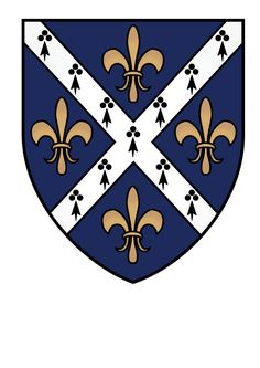 Oxford Coat Of Arms   St Hughs College Oxford Coat Of Arms by ChevronTango