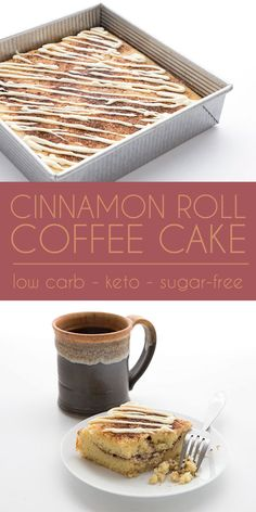 Low carb coffee cake - All Day I Dream About Food