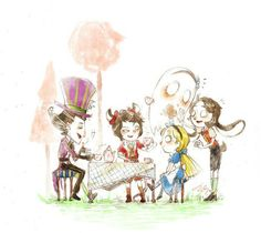 THE FACT THAT WILSON IS THE MAD HATTER MAKES ME CRY TEARS OF JOY