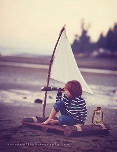 Ahoy! - Such a cute little kiddy picture