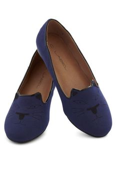 I like to think of myself as a fashionable cat lady ;]   Rare Breed Flat, #ModCloth