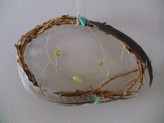 Willow Dream Catcher with stars assorted colors. $6.98, via Etsy.