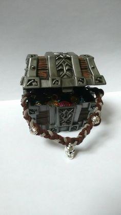 Twisted pirate bracelet di Lorybitlittleshop su Etsy