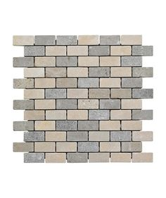 Information about Carven™ Mix Brick Mosaic Tile Mosaic Tiles, Wall Tiles, Topps Tiles, Glass Brick, Limestone Tile, Carven, Kitchen Tiles, Home Projects, New Homes