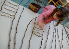 "Lovely post from Mairtown Kindergarten about 'The possibilities of a stick' ("",)"