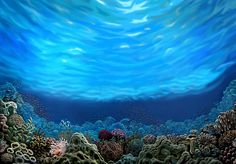 how to paint an underwater mural - Google Search