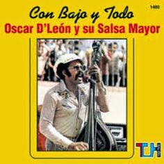 Con bajo y todo - Oscar D' León y su Salsa Mayor (1976) Musica Salsa, Salsa Music, All Band, Album Covers, Musicals, Singer, Cuba, Entertainment, Classic