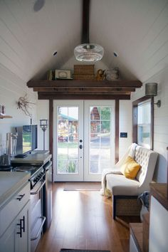 Nice! - Northwest Haven • Tiny Heirloom Luxury Custom Built Tiny Homes