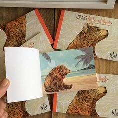 Lots of Bear Postcard books back in stock!  12 beary merry cards to keep or give away to friend and family. 🐻🐻🐻🐻🐻🐻🐻🐻🐻🐻🐻🐻 Shop link in my bio above ☝️I post worldwide 🌎 Thanks to @rik1p for the stellar printing job too! . . . #bear #postcard #postcardbook #sandradieckmann #illustration #drawing #illustrator #animal #gift #grizzly #card #art #kunst #künstler #bär #brownbear