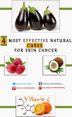 4 Most Effective Natural Cures For Skin Cancer ~ Home Remedies