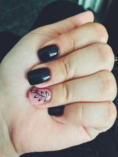 Black nails 🌟