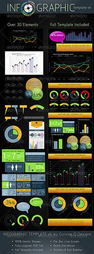 Over 30 Infographic Elements Easy to Customize | Full Template Included  Make you very own Infographics from a variety of charts and graphs. Here are all the elements you will need for you to customize your own inforgraphic. Bar charts, pie graphs, q Раскрутка сайта ! Эксклюзивный сервис от компании SEOBCN мы находимся в Барселоне http://nensi.net/trust_sites/