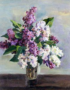 Still Life with Lilac - Pyotr Konchalovsky