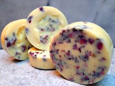 Cocoa & Shea Butter Massage Bars (No Beeswax)