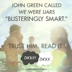 Did your students love THE FAULT IN OUR STARS? Check out E. Lockhart's new book WE WERE LIARS.