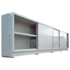 metal storage cabinet sliding doors