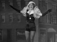 Ruby Keeler in 42nd Street, dare I say the best buck tap dancing sequence ever filmed. I want those tap shorts too.