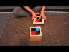 Montessori Sensorial: Binomial Cube (Free Printable!) - The Natural Homeschool
