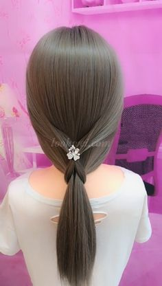 50 Gorgeous Summer Hairstyles That You Will Want to Try Easy Toddler Hairstyles, Work Hairstyles, Summer Hairstyles, Braided Hairstyles, Natural Hair Styles, Short Hair Styles, Long Hair Video, Hair Reference, Pinterest Hair