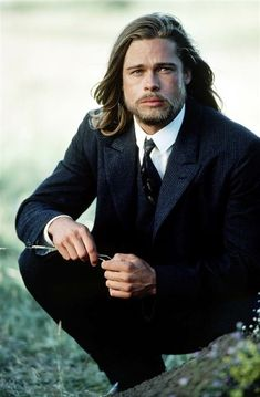 brad pitt outfits best outfits - Page 5 of 101 - Celebrity Style and Fashion Trends Bradd Pitt, Kris Kristofferson, Annie Leibovitz, Ideal Man, Braveheart, Jared Padalecki, Hot Boys, Jensen Ackles, Gq