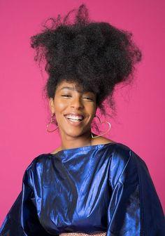 "thepowerofblackwomen: ""Jessica Williams for Brooklyn Magazine "" Black Power, Black Girls Rock, Black Girl Magic, Afro, Curly Hair Styles, Natural Hair Styles, Jessica Williams, Coily Hair, Dope Hairstyles"