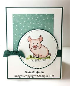Linda K's Stampin' Page: Stampin' Up!'s This Little Piggy