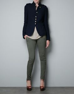 MILITARY JACKET - Blazers - Woman - ZARA