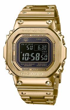 b8b237a81e3 CASIO G-SHOCK GMW-B5000GD-9 FULL METAL GOLD New in box G