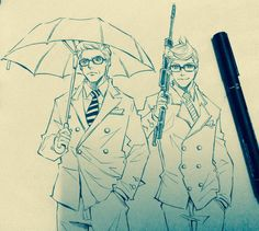 Kingsman+mentor mentee by xanseviera on DeviantArt