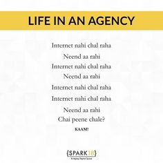 "Spark Eighteen on Instagram: ""What actually goes behind all the work, tag your mates! 🙋🏻‍♀️😉 #SparkEighteen #AgencyLife ⠀⠀⠀⠀⠀⠀⠀⠀⠀⠀⠀ #agencywork #memesdaily #worklife…"""