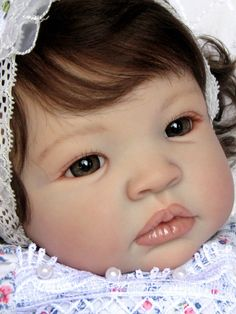 Little Petals Nursery  Reborn Baby Doll  Shyann  by Aleina Peterson Now  Karly