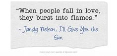 Jandy Nelson, I'll Give You the Sun