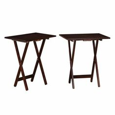 Linon Home Decor Tray Table Set Faux Marble Brown Classy Linon Faux Marble  Tray Table Our