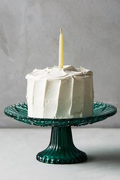 Color-Cut Cake Stand #anthropologie