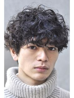 Korean Men Hairstyle, Korean Haircut, Curly Hair Men, Wavy Hair, Curly Hair Styles, Dope Hairstyles, Permed Hairstyles, Men Perm, Hair Journey