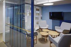 SLS - Snellmaninkatu — KOKO3 Office Environment, Workplace Design, News Space, Contemporary, Modern, Finland, Furniture Design, Flooring, Traditional
