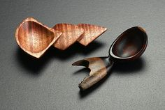Norm Sartorius - 2 Little Spoons - Curly Koa and Cocobolo
