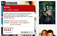 Honest description of Arrow based on TV poster! Ha ha hah hah ha!!!