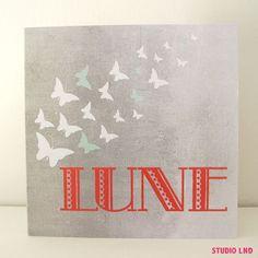 Geboortekaartje Lune 03/10/2015