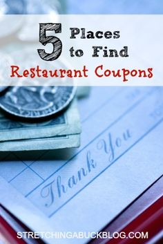 How to Find Restaurant Coupons | Save Money on Eating Out