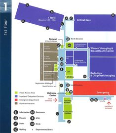 ACH Floor Maps - - MaineGeneral Health, Augusta, ME