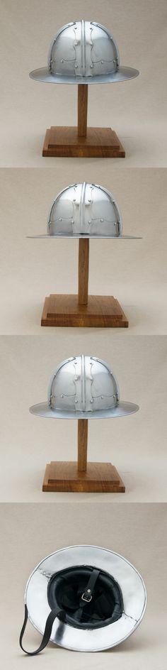 16 gauge Chapel-de-fer Kettle Helmet