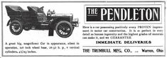 1905 Pendleton Automobile Advertisement
