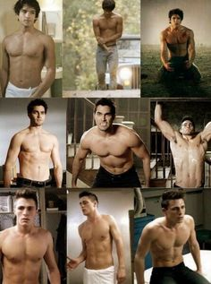 Teen Wolf characters shirtless