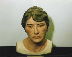 NamUs UP # Found December miles north of Village of Tomhicken, Sugarloaf Township, Pennsylvania Forensic Facial Reconstruction, John Doe, Forensic Science, Missing Persons, Forensics, Pennsylvania, December, Female, Metallic