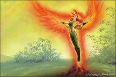 Mythical  Phoenix, by Santiago Iborra (c) 2005